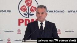Улад Плахатнюк, лідэр Дэмакратычнай партыі Малдовы