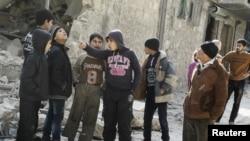 Алеппо бомбадан кийин