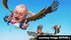 Карикатура Андрія Левченка