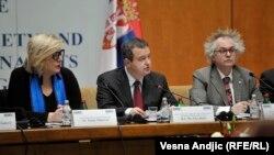 Dunja Mijatović, Ivica Dačić i Ivan Tasovac na konferenciji OEBS u Beogradu