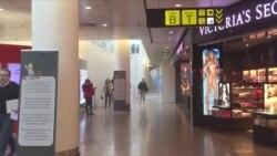 Эвакуация в аэропорту Брюсселя после взрывов