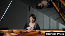 Марија Ѓошевска, пијанистка. Фото Кире Галевски.