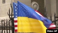 La sosirea vicepreședintelui american la Kiev