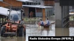 В городе Шамац, в Боснии, 21 мая