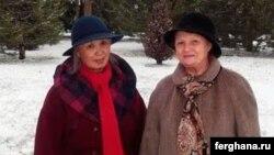 Аделаида Ким и Елена Урлаева, правозащитники в Узбекистане.