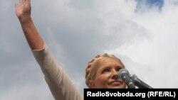 Tymoshenko në kohën kur ka qenë kryeministre.