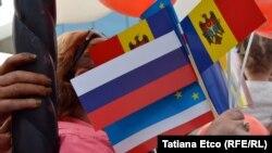 Ziua Rusiei celebrată festiv la Comrat