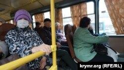 Акмәчет автобусында