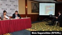 Сегодня Национальный демократический институт США (NDI) опубликовал результаты социологического исследования популярности грузинских политиков