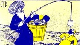 """""""Molla Nəsrəddin"""" jurnalı, 21 iyul, 1906"""