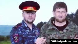 Апти Алаудинов и Рамзан Кадыров, архивное фото
