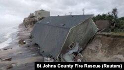 Наслідки попередника «Марії», урагану «Ірма», в американському штаті Флорида, 11 вересня 2017 року