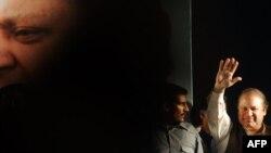 Пәкістандық саясаткер Наваз Шариф. Лахор, 9 мамыр 2013 жыл