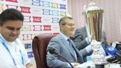 У Києві показали кубок юнацького турніру ЄвроБаскет-2013