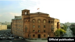 Armenia --The national police headquarters in Yerevan, 23Sep2012