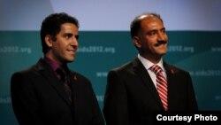آرش علایی (راست)، و کامیار علایی، پزشکان ایرانی