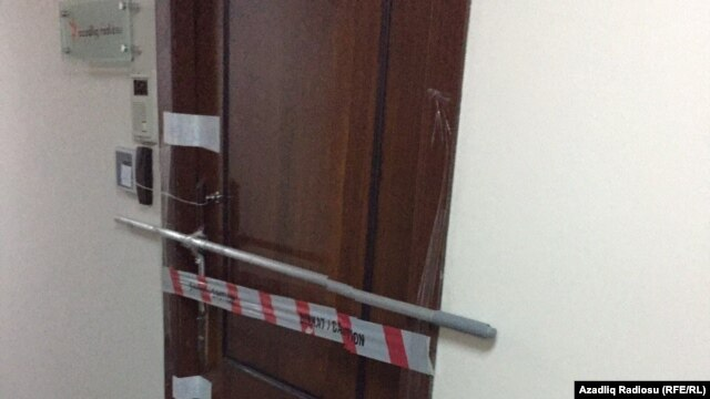 AzadlıqRadiosu ofisindən çıxarılır