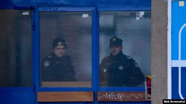 Policija u Zagrebu 11. januara nakon eksplozije