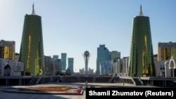 Город Нур-Султан, бывшая Астана.