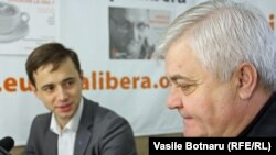 Leonid Litra şi Anatol Țaranu