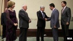 Свеченост по повод 10 години од основањето на ДУИ, вторник, 12 јуни 2012.
