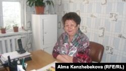 "Мастер КСК ""Алмаз"" Кунсая Мамирова. 25 апреля 2014 года."