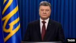 Украинскиот претседател Петро Порошенко