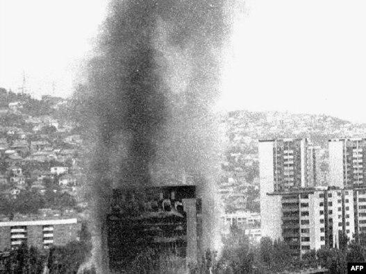 Granatiranje Sarajeva, avgust 1992., arhiv