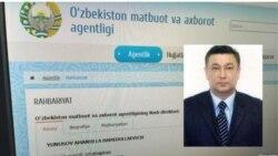 Ўзбекистон Матбуот ва ахборот агентлиги раҳбари қўлга олинди