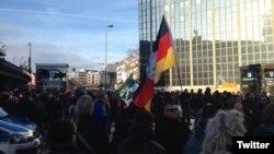Demonstrație Pegida la Köln