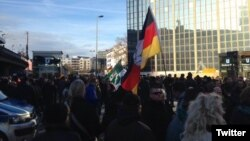 Германи - Кельнера протест