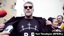 Артемий Троицкий Pussy Riot тарафдарлары янында