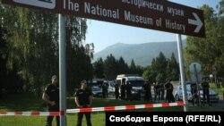 """Районът на резиденция """"Бояна"""" преди срещата на прокурорите"""