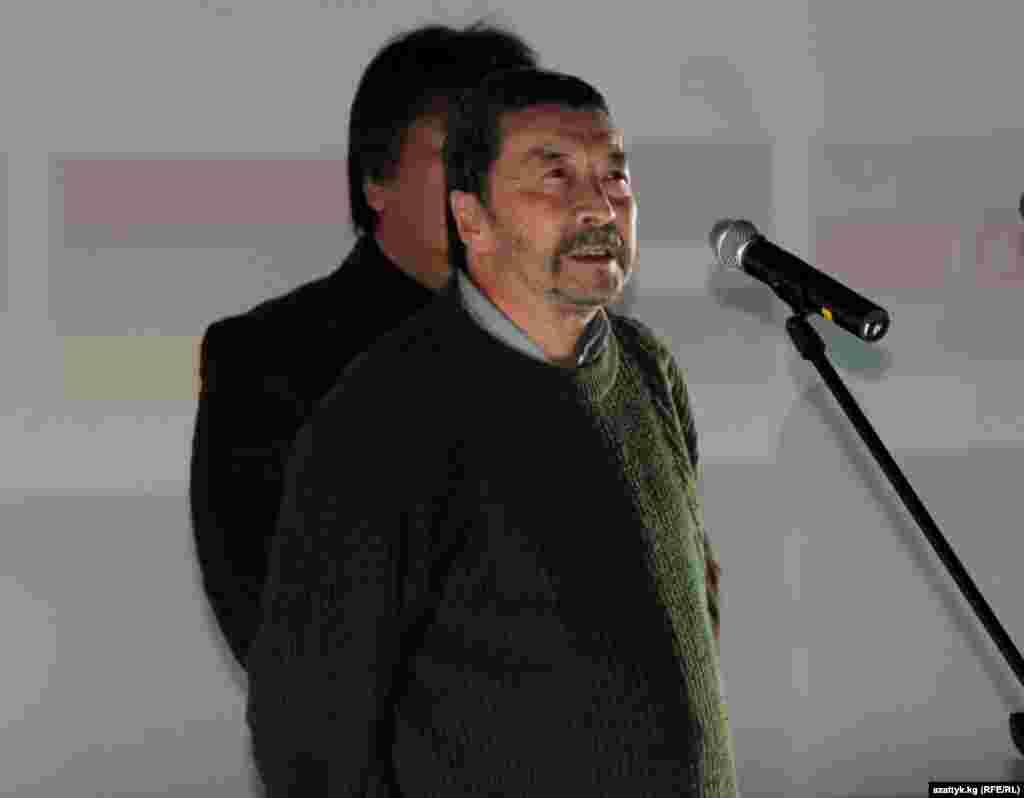Известный кыргызский кинорежиссер Геннадий Базаров
