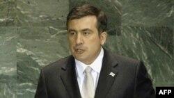 Ish presidenti i Gjeorgjise, Mikael Sakashvilli (ARKIV)