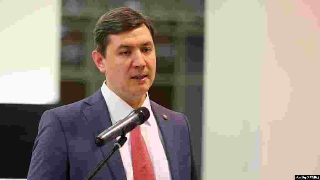 Татарстанның элемтә министры Роман Шәйхетдинов