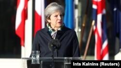 ბრიტანეთის პრემიერ-მინისტრი ტერეზა მეი