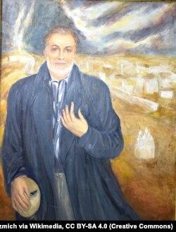 Барыс Луцэнка, партрэт работы Аляксея Кузьміча