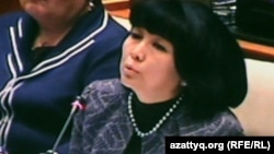 Загипа Балиева, депутат мажилиса парламента.