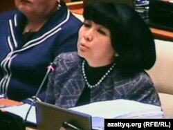 Депутат Зағипа Балиева.