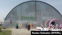 Новый спортзал в селе Баг