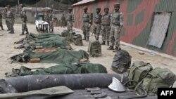 Припадници на војската на Индија