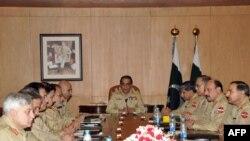 راولپېنډۍ: د پاکستان د ځواکونو د کور کمانډارنو غونډه، د روان زېږیز کال د مې پینځمه.