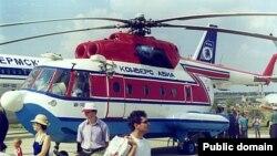 В отличие от гражданских Ми-14, на вертолеты МЧС устанавливают специальное оборудование для посадки на воду