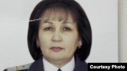 Гулбану Абланова, пенсионер органов прокуратуры, старший советник юстиции.