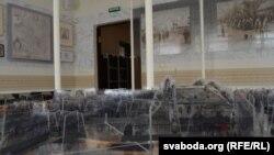 Макет ашмянскай забудовы