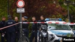 Поліція на місці стрілянини, Берлін, 27 квітня 2017 року