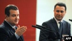 Nikola Gruevski i Ivica Dacic