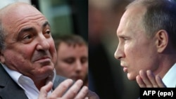 If Russian President Vladimir Putin (right) didn't have oligarch Boris Berezovsky (left), he would have had to invent him.
