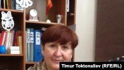 """Одродзение"" поляк борборунун жетекчиси Зенона Слензак-Бегалиева"